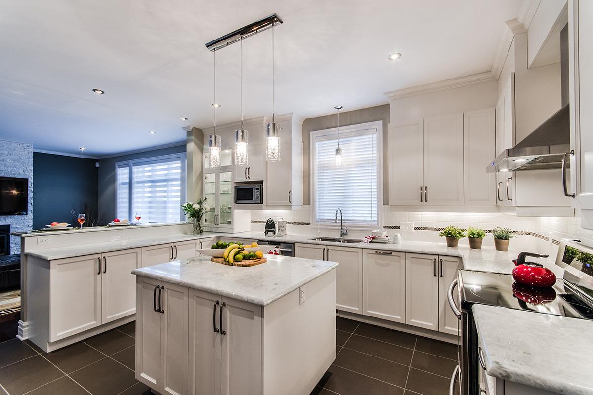 projet cuisine champ tre et lumineuse armodec. Black Bedroom Furniture Sets. Home Design Ideas