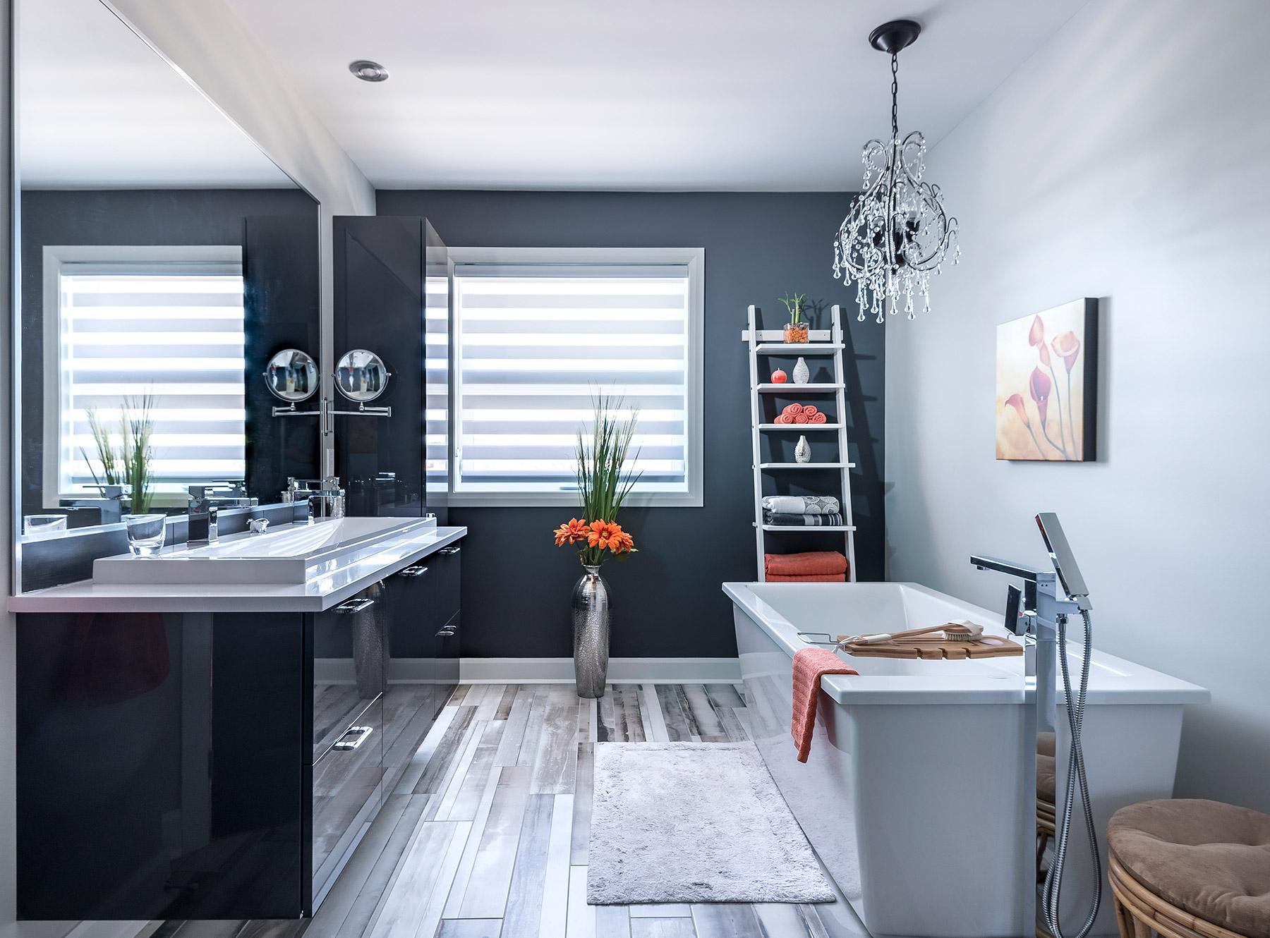 projet salle de bains brillance et l g ret armodec. Black Bedroom Furniture Sets. Home Design Ideas