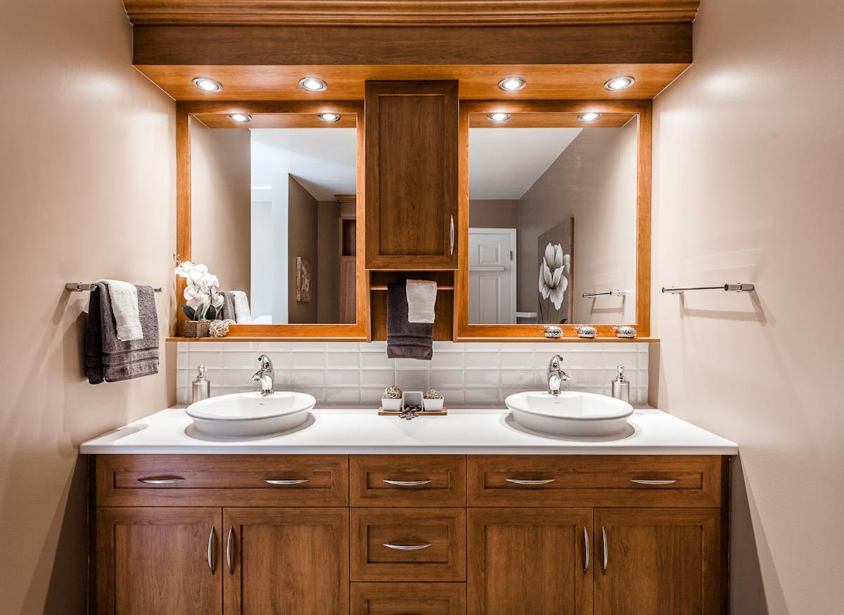 projet salle de bains nouvelle campagne armodec. Black Bedroom Furniture Sets. Home Design Ideas