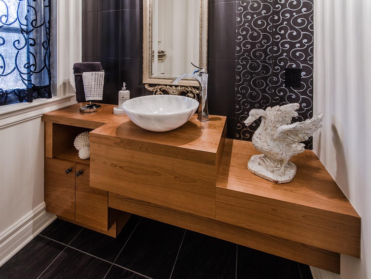 Projet salle de bains pratique et cr atif armodec for Salle de bain pratique