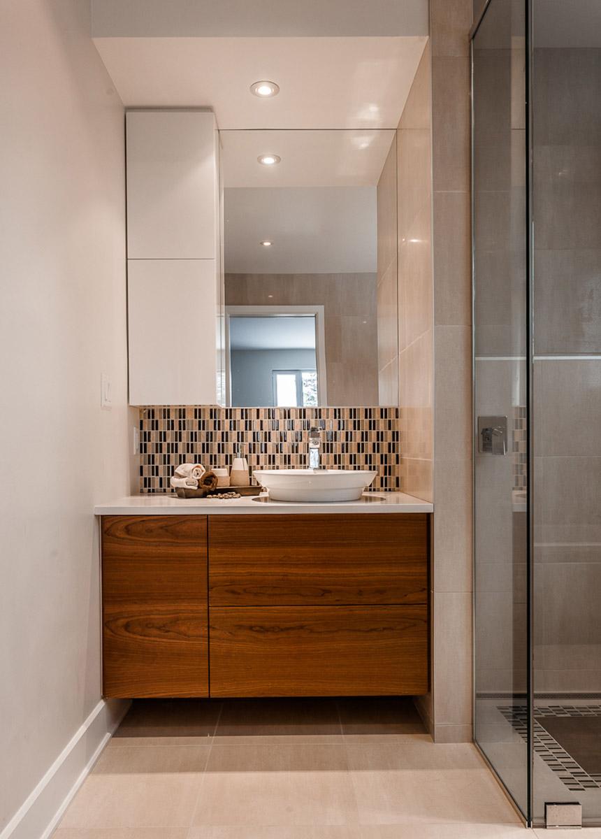 projet salle de bains le on de simplicit armodec. Black Bedroom Furniture Sets. Home Design Ideas