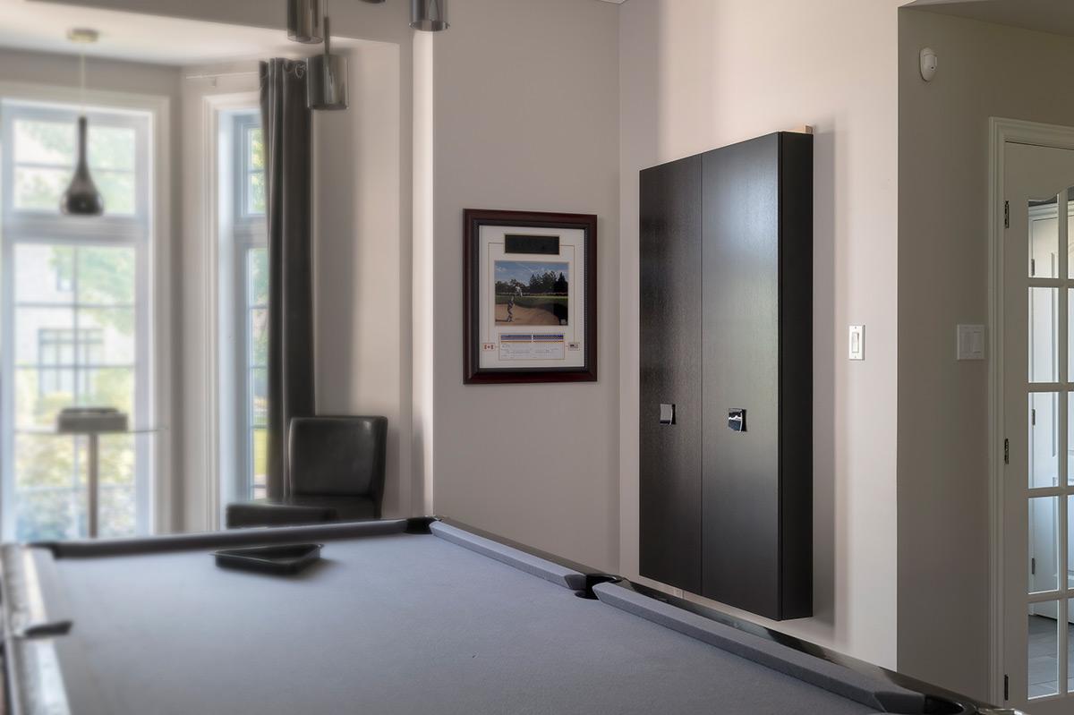 Mobilier cinema maison moderne mobilier sur mesure armodec for Mobilier moderne montreal
