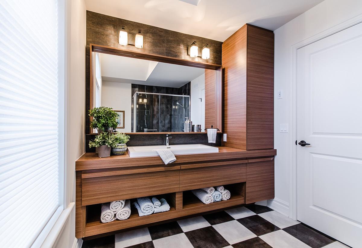 projet salle de bains belle nature armodec. Black Bedroom Furniture Sets. Home Design Ideas
