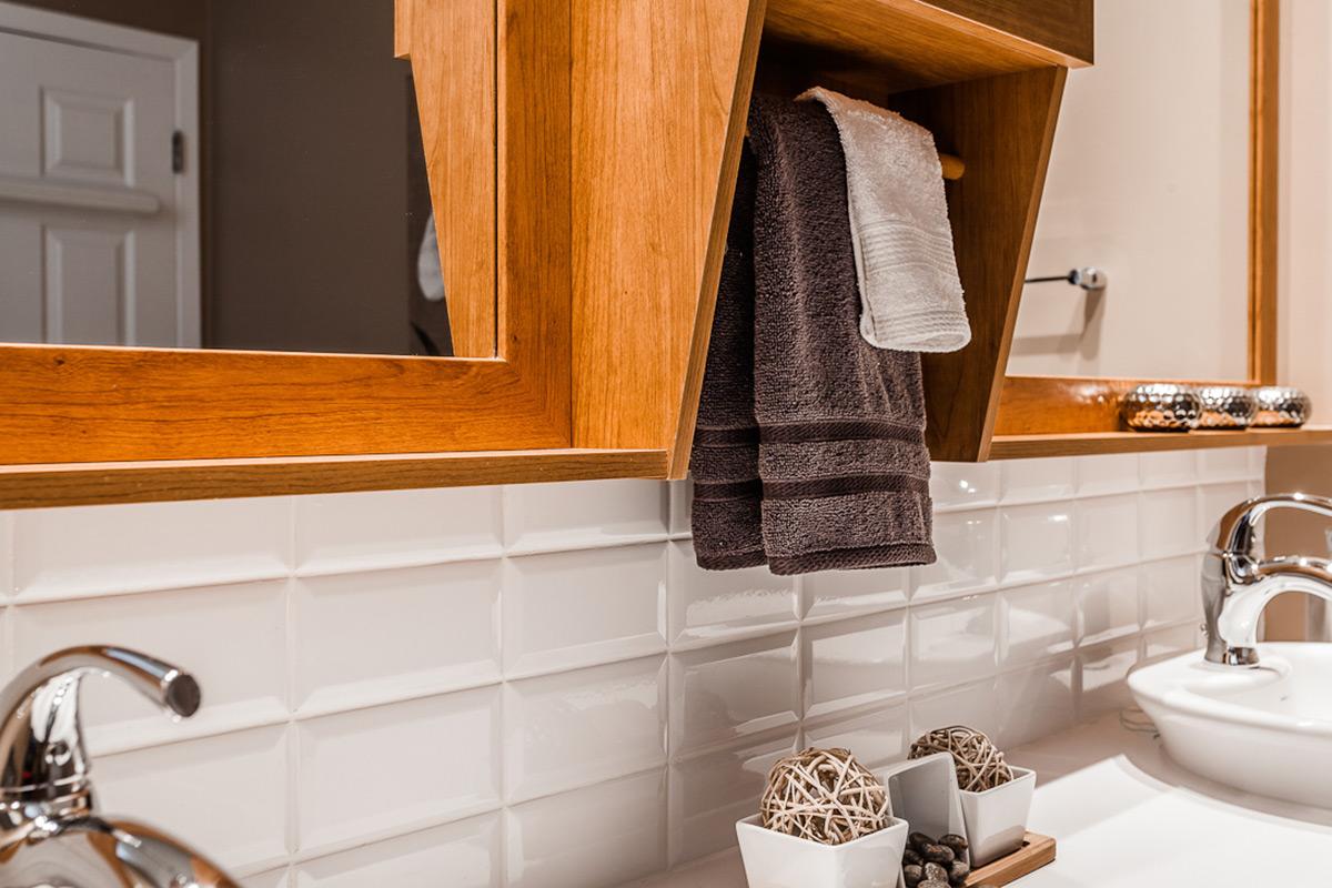 Armoire de salle de bain et meuble-lavabo contemporain | Armodec