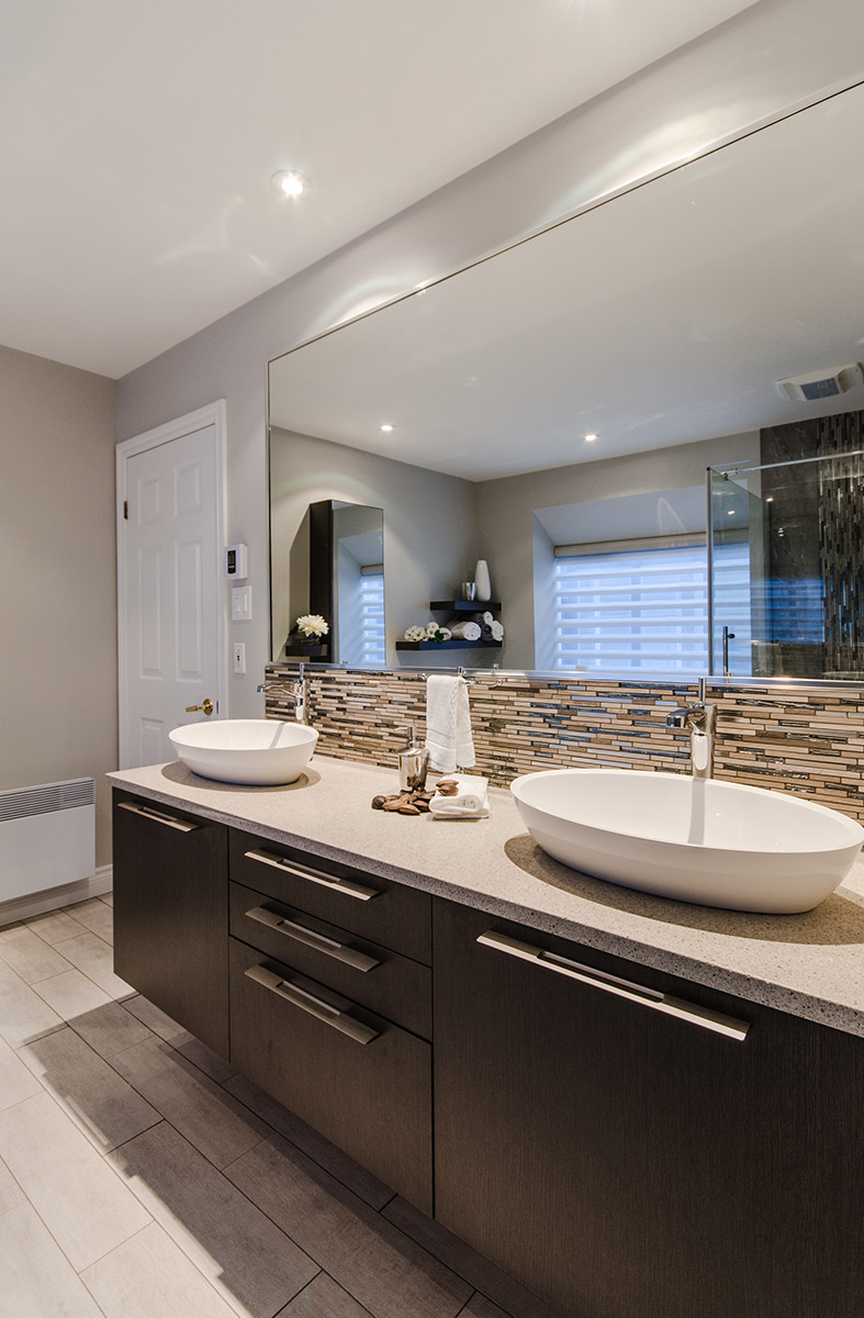 Armodec salle de bains lumi re et l g ret armodec - Salle de bain lumiere ...