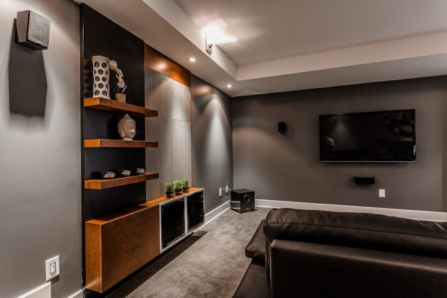 A Model Home Theater