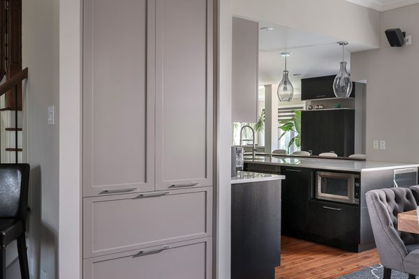banquette cuisine sur mesure mobilier classique armodec. Black Bedroom Furniture Sets. Home Design Ideas