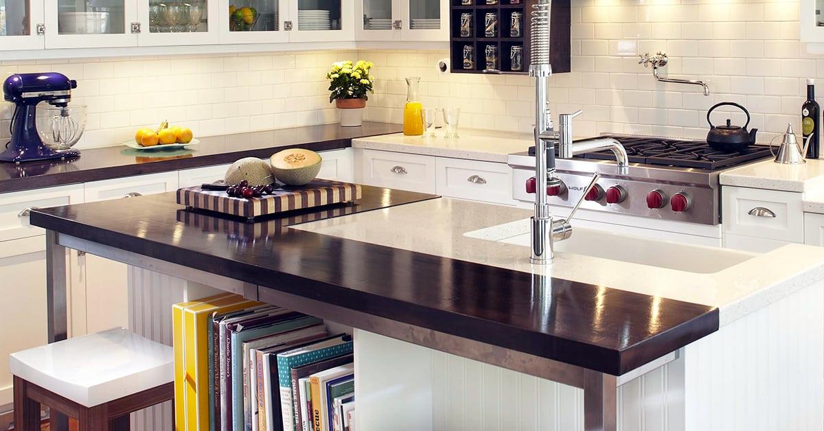 Comptoir de cuisine: 4 matériaux tendances